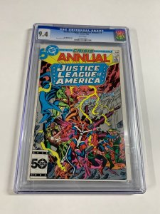 Justice League Of America Annual 3 Cgc 9.4 White Pages