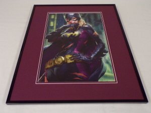 Batgirl 12 Framed 16x20 Poster Display DC Comics Artgerm