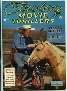 COWBOY MOVIE THRILLERS-#1-DEC 1941-WESTERN-PULP-SOUTHERN STATES PEDIGREE-NM