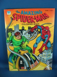 AMAZING SPIDERMAN VF+ MANY ARMS OF DOC OCTOPUS COLORING BOOK 1979