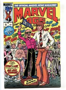 Marvel Age #8-1983-Stan Lee cover-comic book VF
