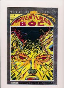 Invasion Comics The Adventures of B.O.C. #1 VERY GOOD/FINE (SRU223)