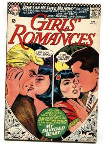 Girls' Romances #116 1966-DC-heart-shaped cover imagery- VG-