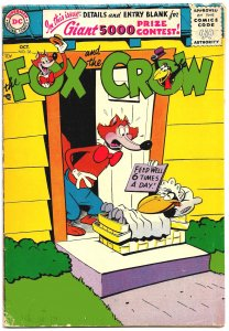 FOX AND THE CROW #36 (Oct 1956) 5.0 VG/FN  36 Pages of Madcap Jim Davis Hijinx!