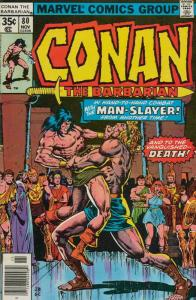 Conan the Barbarian #80 FN; Marvel   save on shipping - details inside