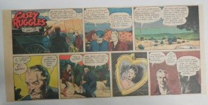 Casey Ruggles Sunday  by Warren Tufts from 4/20/1952 Third Page Size!