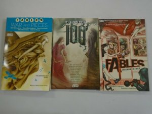 Fables TPB 3 different SC books 8.0 VF
