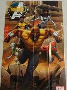 MIGHTY AVENGERS Promo Poster, 24 x 36, 2013, MARVEL, Luke Cage Unused 295