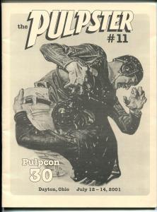 Pulpster #11 2001-program book for Pulpcon #30-loaded with pulp info-VF