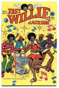 FAST WILLIE JACKSON #2-Hard to find-RARE-1976-BLACK ARCHIE