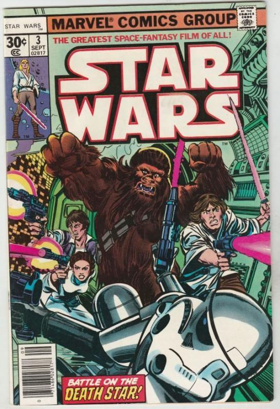 Star Wars #3 strict NM- 9.2  High-Grade   Appearance - Lord Vadar   Many more up