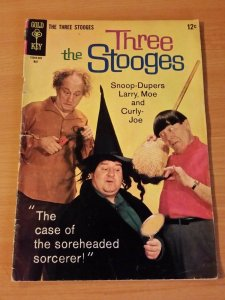 The Three Stooges #23 ~ VERY GOOD - FINE FN ~ (1965, Gold Key Comics)