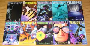 Version 1.1-1.8 & 2.1-2.7 VF/NM complete series  dark horse studio proteus manga