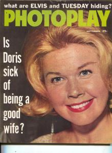Photoplay-Doris Day-Loretta Young-Elvis-Tuesday Weld-Sept-1960
