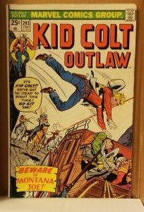 Kid Colt Outlaw #203 (1976)