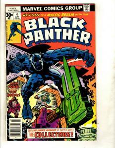 Black Panther # 4 NM- Marvel Comic Book Jack Kirby Wakanda Avengers Hulk GK1