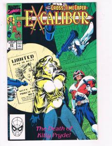 Excalibur #23 VF Marvel Comics Comic Book Kitty Captain Britain June 1990 DE23