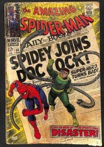 Amazing Spider-Man #56 Fair 1.0 Marvel Comics Spiderman