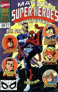 Marvel Super-Heroes (1990 series) #4, VF+ (Stock photo)