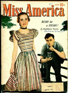 Miss America Vol. 6 #2 1947-Timely--Patsy Walker-camera cover-fashion-FN-