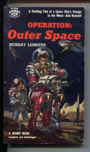OPERATION: OUTER SPACE -S1346-SCI-FI-MURRAY LEINSTER-vf/nm