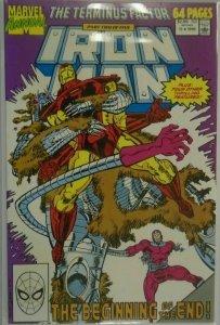 Iron Man ANN #11 DIR - 6.0 FN - 1990