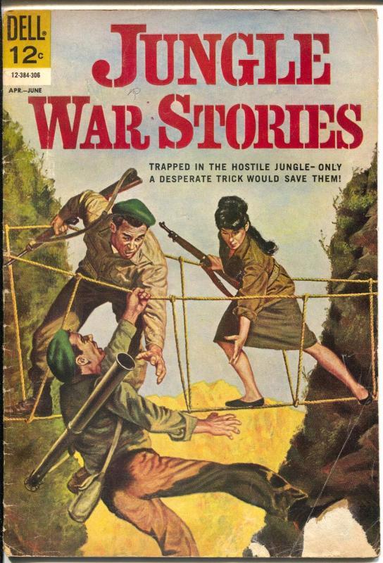 Jungle War Stories #3 1963-Dell-Vietnam War-Viet Cong-VG-