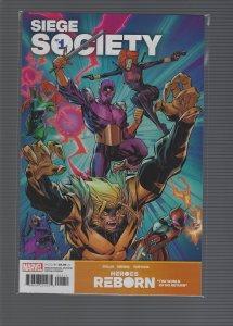 Heroes Reborn: Siege Society #1 (2021)