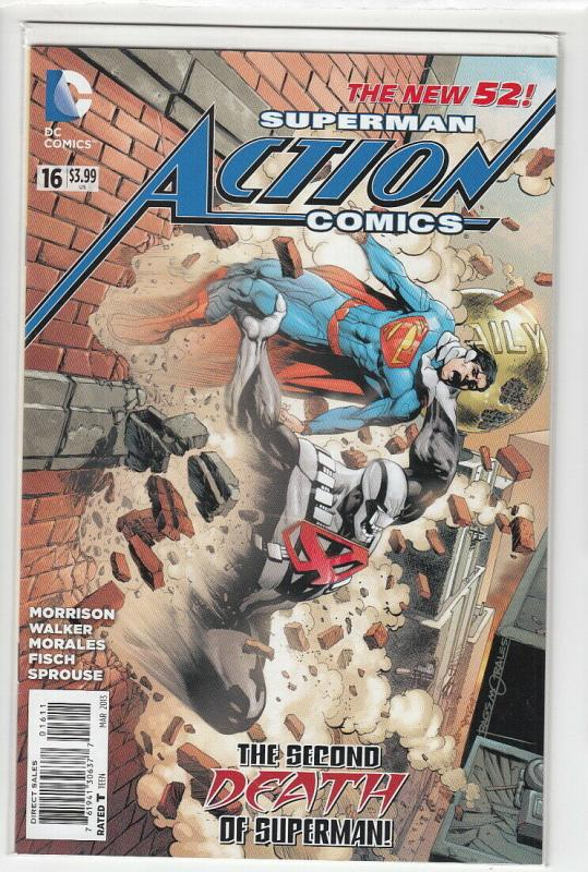 ACTION COMICS (2011 DC) #16 NM- FIRST PRINT NM- A91816