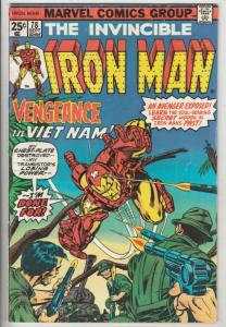 Iron Man #78 (Feb-75) VG/FN Mid-Grade Iron Man