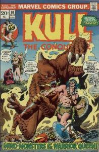Kull the Conqueror (1971 series) #10, Fine+ (Stock photo)