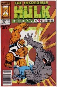 Incredible Hulk   vol. 1   #365 VG/FN (Countdown 2) David Purves, Simonson cover