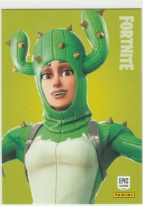 Fortnite Prickly Patroller 122 Uncommon Outfit Panini 2019 trading card series 1