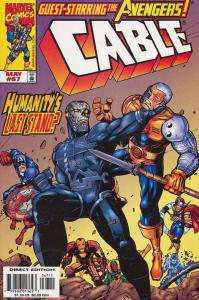 CABLE (1993) 66-68 Sign Of The End Times AVENGERS !
