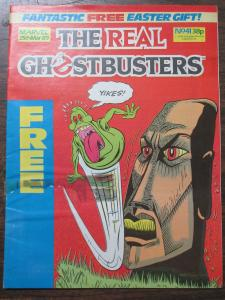 The Real Ghostbusters Marvel UK Magazine #41 Week of March 25, 1989 Easter!