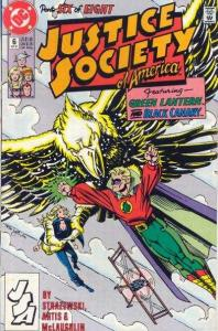 Justice Society of America (1991 series) #6, NM- (Stock photo)