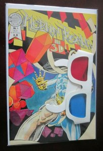 Merlin Realm 3D #1 with glasses 8.0 VF (1985)