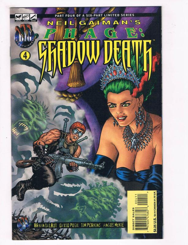 Neil Gaimans Phage: Shadow Death #4 NM Big Entertainment Comic Book DE28