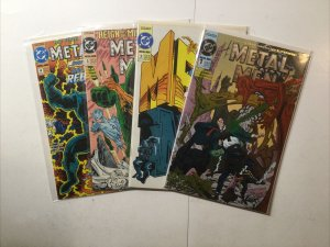 Metal Men 1-4 1 2 3 4 Four Issue Miniseries Lot Run Set Near Mint Nm Dc Comics
