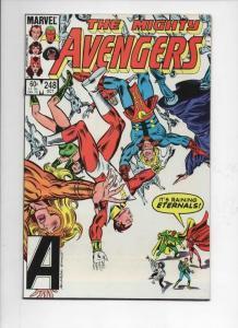 AVENGERS #248, VF/NM, Eternals, Captain Marvel, 1963 1984, more Marvel in store