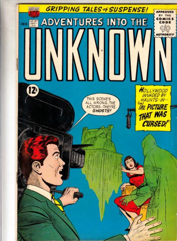 Adventures Into the Unknown #137 (Dec-62) FN/VF+ High-Grade