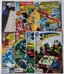 Superman Comic book Lot of (7) DC Comics see more lots CL#00