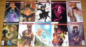 Runaways #1-18 VF/NM complete series - brian k. vaughan - all 1st prints marvel