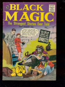BLACK MAGIC V.8 #3 1961-EC STORY SWIPE-PIRATES-GHOST-fine/very fine FN/VF