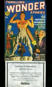 THRILLING WONDER STORIES 1942 APR-WILD LAZER RAY COVER VF