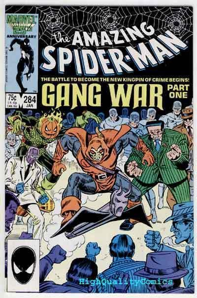 Amazing SPIDER-MAN #284, VF/NM, Gang War, Punisher, 1963, more ASM in store
