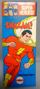 DC Comics,1972,Shazam,CAPTAIN MARVEL,NM,Mego,World's Greatest Superheroes