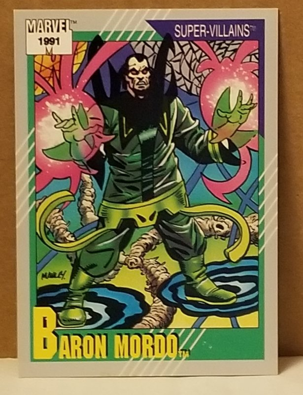 1991 Marvel Universe #76 Baron Mordo