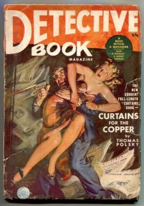 Detective Book Pulp Winter 1941- Saunders cover- Curtains Copper