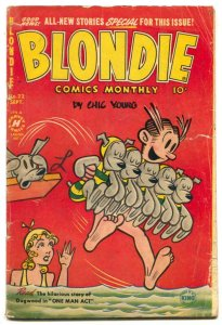 Blondie Comics #22 1950- Split the Atom G/VG